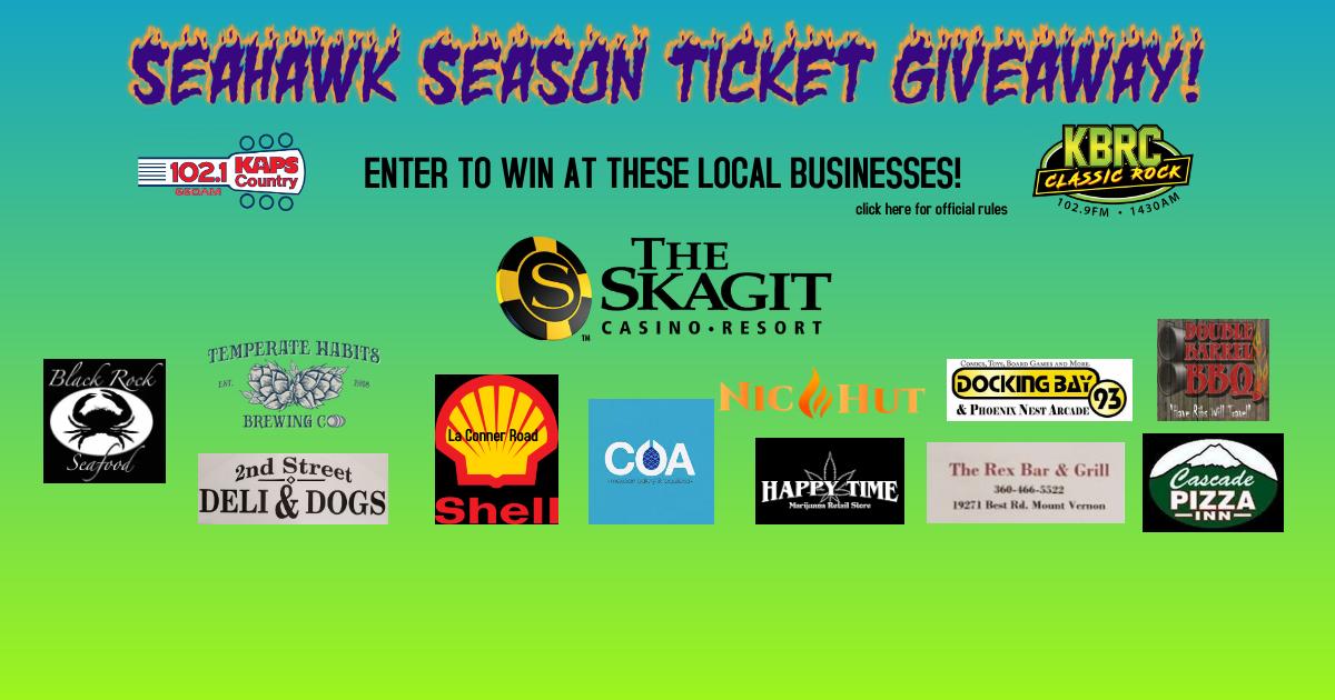 Seahawk Ticket Giveaway