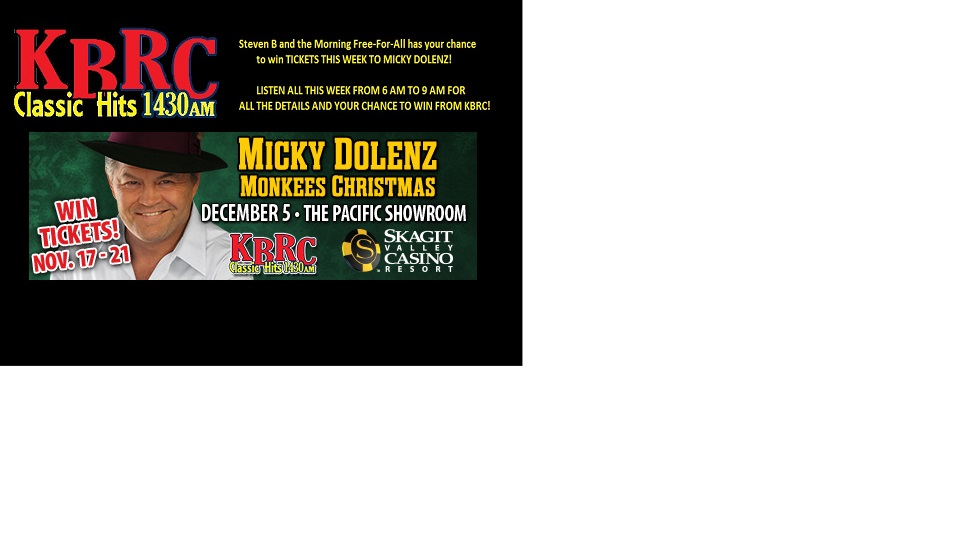 Micky Dolenz Ticket Giveaway