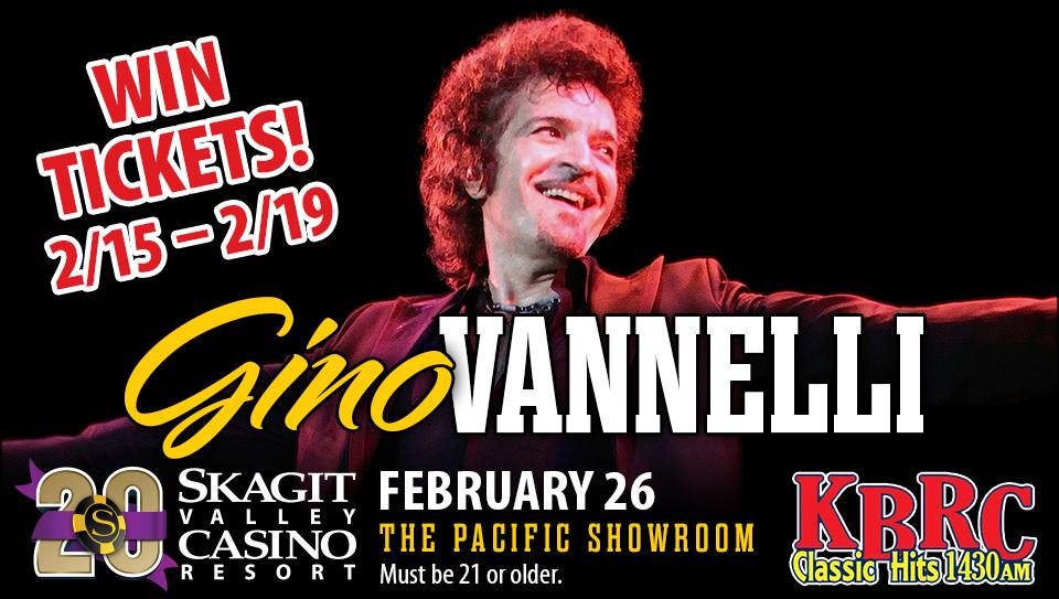 Gino Vannelli at The Skagit Casino